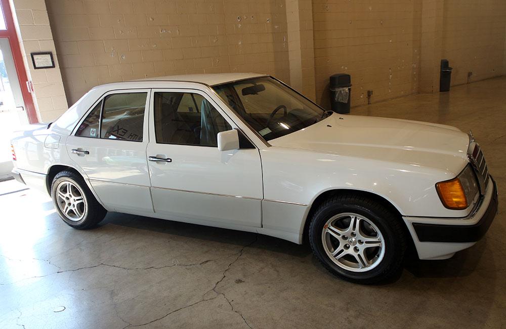 1990 Mercedes 300 E White