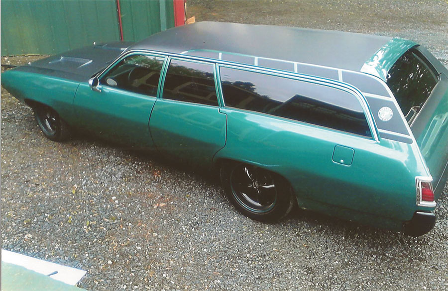 1972 Plymouth Satellite Station Wagon