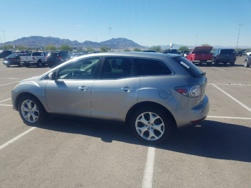 2010 Mazda CX7 AWD Grand Touring Edition Silver