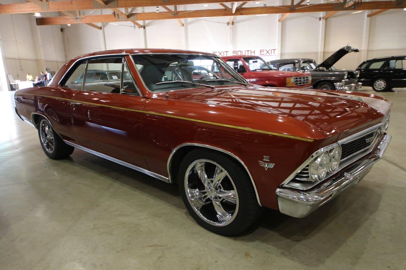 1966 Chevrolet Malibu Rust