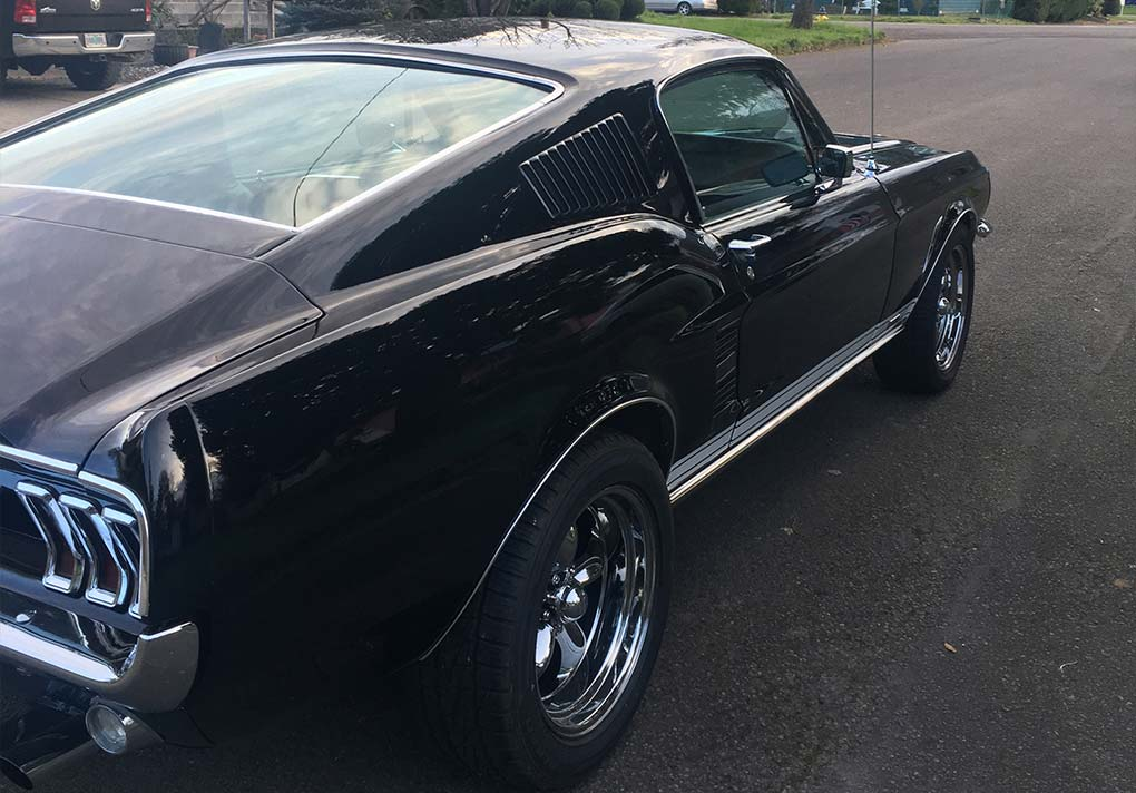 1967 Ford Mustang 6TA 2 door Fastback