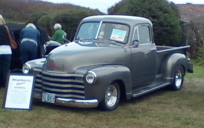 1953 Chevrolet 5 window PU