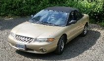 1999 Chrysler Convertible    Champagne