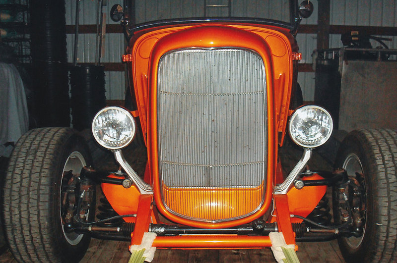 1932 Ford Hi-Boy   Orange