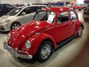 1967 Volkswagon Bug Red