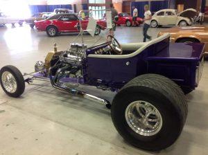 1923 Ford T Bucket Purple