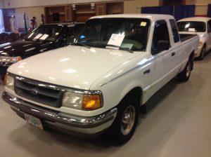 1996 Ford Ranger XLT White