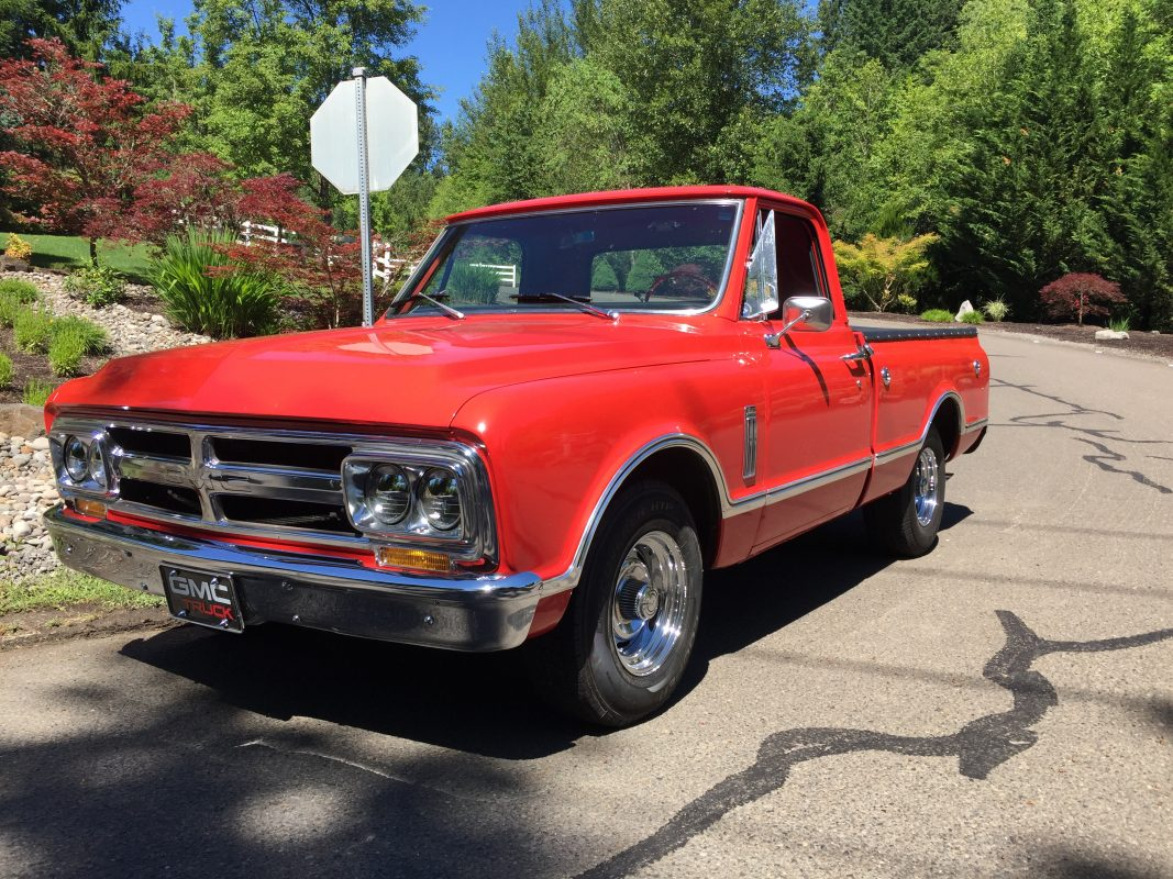 1967 GMC PU Short Wide Orange