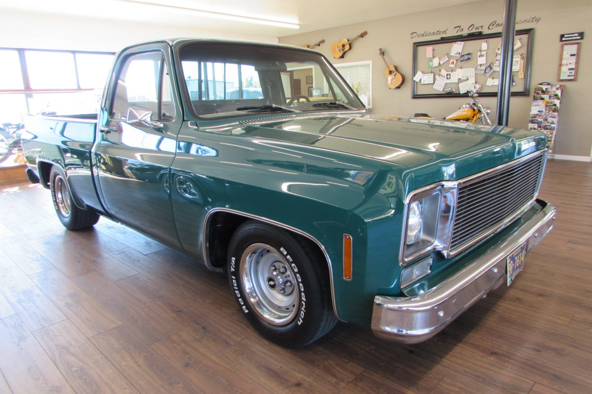 1977 Chevrolet C-10 Short Wide PU