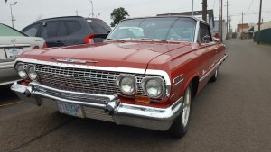1963 Chevrolet Impala SS Red