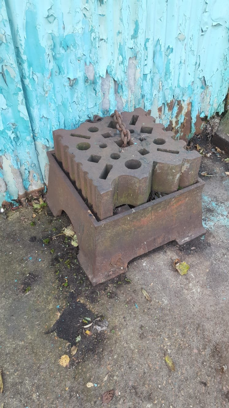 Blacksmith Swage block and stand