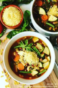 Jamie Oliver's Minestrone Soup Recipe
