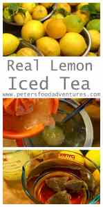 Real Iced Lemon Sweet Tea. This classic recipe perfect for the summer!