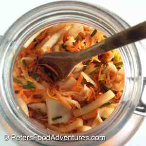 Boost your immune system with homemade Kimchi! Koreans have eaten Kimchee for over a thousand years. Raw and naturally fermented, and full of natural probiotics.