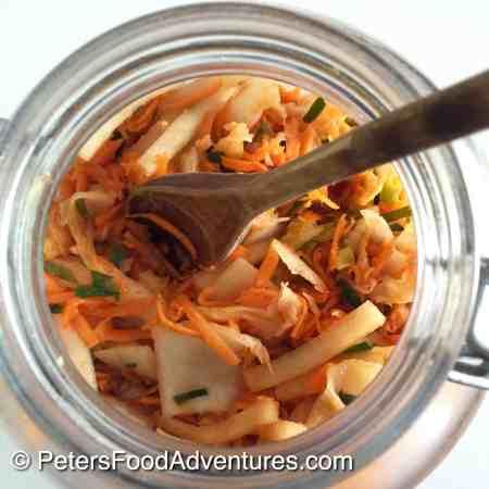 Homemade Raw Fermented Kimchi Recipe