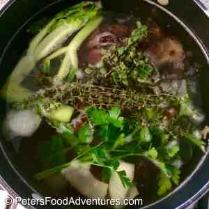 How to make Soup Stock Recipe in a stock pot