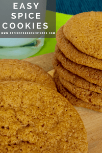 Easy to make and bursting with flavour. Spice Cookies with cinnamon, nutmeg and ginger. Perfect holiday treat! Easy Spice Cookies Recipe
