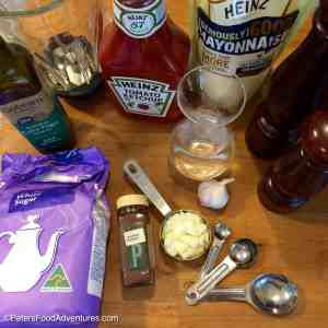 Creamy French Salad Dressing Ingredients