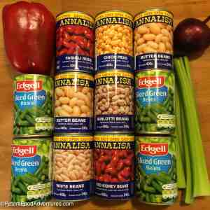 Easy 7 Bean Salad Recipe ingredients