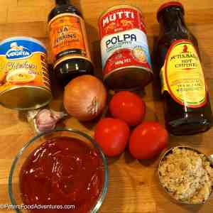 Monkey Gland BBQ Sauce Recipe ingredients