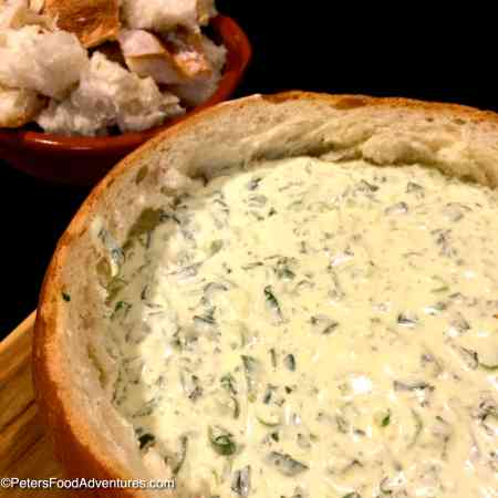 Easy Spinach Dip in 10 minutes