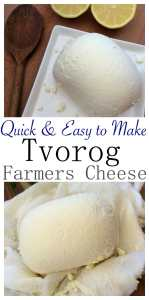 Farmer's Cheese Tvorog