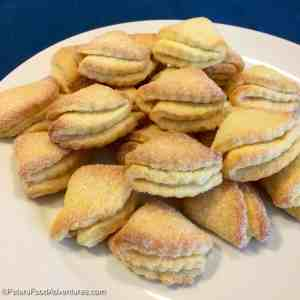 """Goose's Feet Cookies "" (Гусиные Лапки) - Farmer's Cheese Cookies"