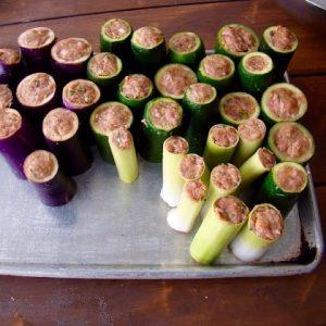 Stuffed Vegetable Kebabs