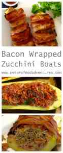 Don't be stuck eating boring old Zucchini Meatloaf! Here's a fresh tasty way to eat zucchini boats, inspired by the flavours of Thailand. Bacon Wrapped Thai Zucchini Boats