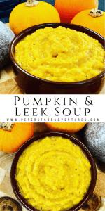 pumpkin and leek soup