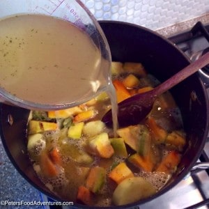 Easy Pumpkin and Leek Soup Preparation