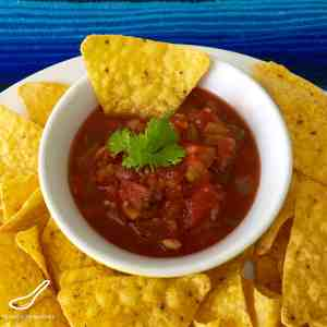 Homemade Canning Salsa Recipe