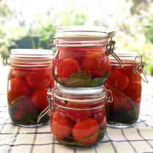 Russian Fermented Pickled Tomatoes (солёные помидоры)