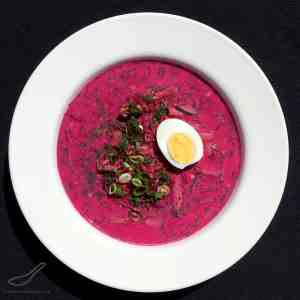 Think Gazpacho - only Russian, and Pink! Full of Probiotics. A Delicious Summer Soup Served Cold, Made From Beets and Kefir.