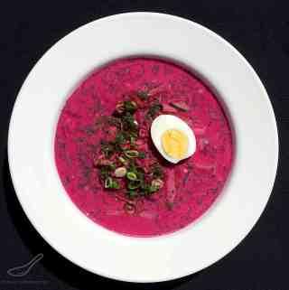 Holodnik Soup (холодник из свеклы)