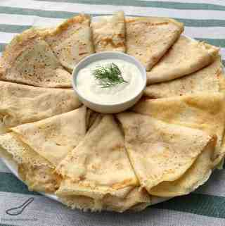 Russian Crepes Blini Recipe (Блины)