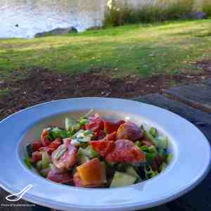 Tomato Cucumber Salad (Салат из помидоров и огурцов)