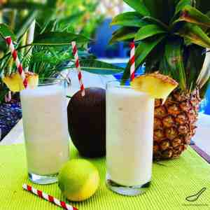 Virgin Piña Colada Mocktail