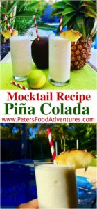 This family favorite Pina Colada recipe reminds me of summer vacation. So easy to blend fresh pineapple juice and coconut milk, Tropical memories in 5 minutes! Virgin Pina Colada Mocktail
