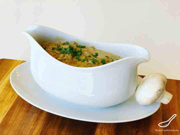 Diane Sauce Mushroom Gravy