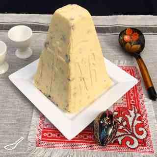 Paskha Russian Cheesecake with White Choc Macadamia – (Творожная Пасха)