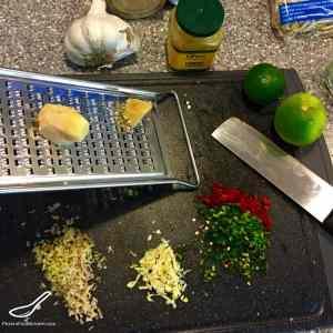 Easy Tom Kha Gai (Thai Coconut Chicken Soup) preparation