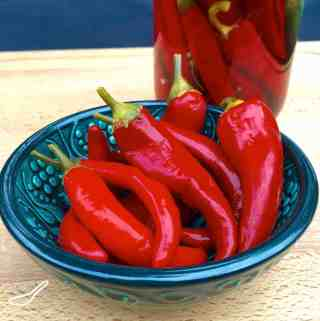 Quick Pickled Chillies Recipe