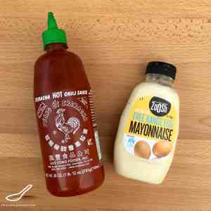Sriracha Mayo Recipe ingredients
