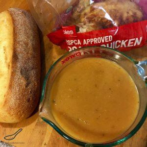 Hot Chicken Sandwich Recipe ingredients