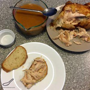 Hot Chicken Sandwich Recipe preparation