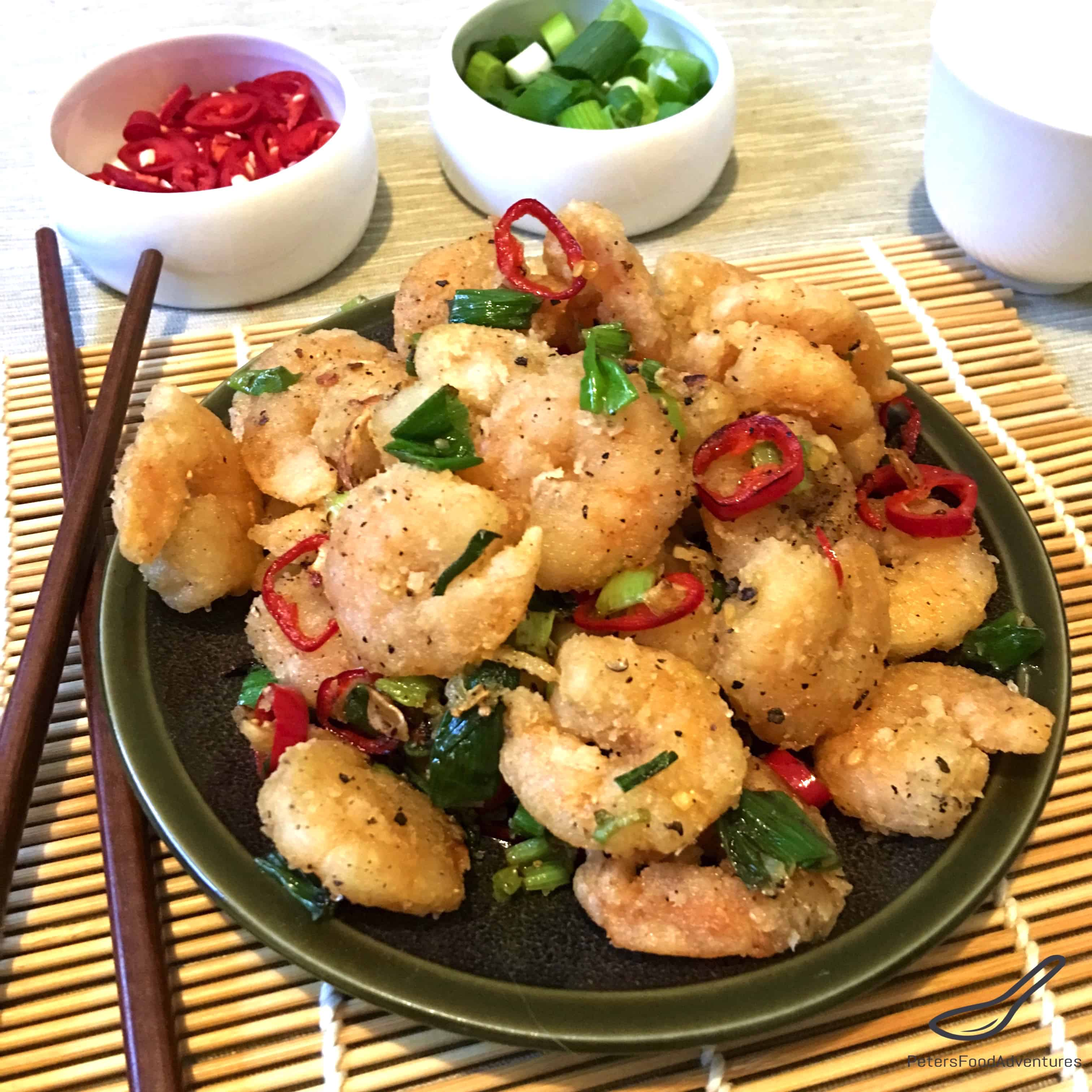 Salt And Pepper Shrimp No Shell Recipe