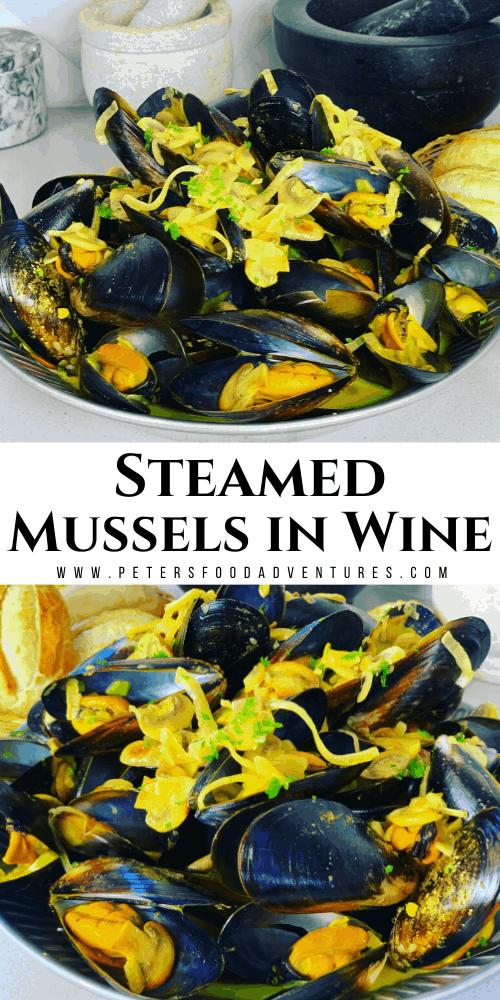 Steamed Mussels in Wine