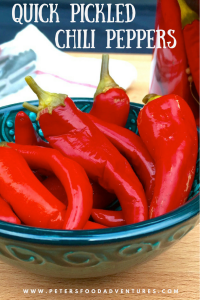 Pickled Chillies