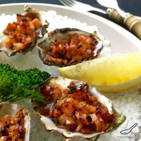 This recipe is so tasty and easy to make, an Aussie classic. Fresh oysters, Worcestershire and Bacon under a grill. If you haven't eaten Oysters Kilpatrick, you haven't eaten oysters!